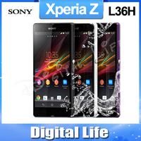 """Original Sony Xperia Z L36h LT36h L36i C6603Quad-Core 5.0""""TouchScreen 16GB Phone  13.1MP camera   Refurbished"""