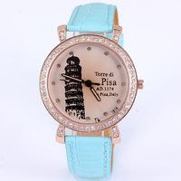 1467  New authentic Korean fashion watch female students upscale fashion rhinestone belt watch quartz watch Wristwatches