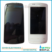 LCD display screen with touch screen digitizer with frame assembly full set for Nokia Zeta 700 N700,Original new,free shipping
