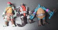 Lot 3 pcs 2014 TMNT Teenage Mutant Ninja Turtles Movie Action Figure Prototype figures