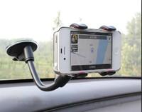 Universal Car Holder Windshield Mount Bracket for Iphone 5 Mobile Phone Holder Rotating 360 Degree Sucker car bracket