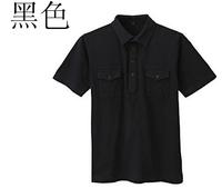 2014 Men Muji Brand Comfortable   T-shirt Summer Retro Tooling Short-sleeve Polo Shirt Free Shipping