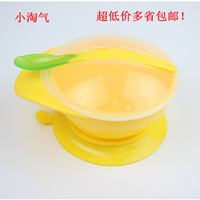 baby kids cooking tools Small naughty baby suction cup utensils wall suction bowl baby training bowl