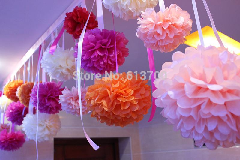 Искусственные цветы для дома 18 Poms Poms /30 /50 /Lot DHL Pom Pom Flower llama and pom poms snow jackets p
