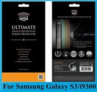 BUFF Ultimate Anti-shock / Shock Absorption Screen Protector Film for Samsung Galaxy S III S3 i9300, Free Shipping