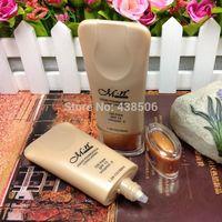 20pcs/lot  makeup oil-free Liquid Foundation face care Waterproof  whitening Liquid concealer cream Sunscreen SPF15 ,30ml