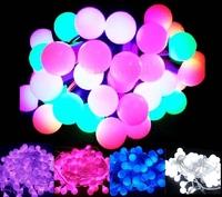 Multi-color 20m 200 Matte Balls LED Light String Strip Christmas Lights For Wedding Party Home Decoration 110V/220V EU/US/UK/AU