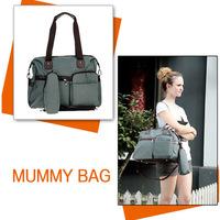 2014 New Design Mummy Bag High quality baby bag diaper bag Retail Multifunctional Mummy Favorite Nappy Bag FREE SHIPPING