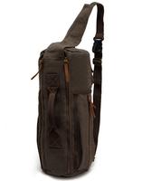 New 2014  man fashionable canvas bag, male backpack shoulder car bags, leather backpack men