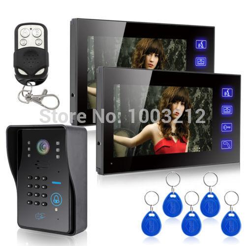 Видеодомофон HK 7 LCD RFID & & 1 2 HK-806IDS1V2