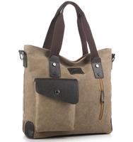 Free shipping,2014 men commuter belt buckle big bag wild  shoulder bag fashion handbag,