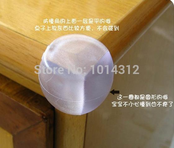 Child Baby round Corner Edge Furniture Protectors Safety Protection Cushion(China (Mainland))
