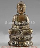 China 4.5 inch Bronze Buddha Statue Free Shipping