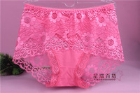 New sexy lace panties underwear women sexy briefs sexy lingerie lace panties undies lingerie multi-colors 7pcs/lot Wholesale