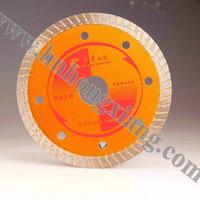 125*20*7mm diamond turbo saw blade for masonry, high quality, MOQ 5 pieces