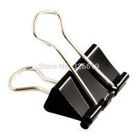 "Free shipping binder clips metal clip deli 9541 50mm 2"" 2 inch black binder clip"