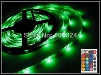 Free shipping 5M SMD 3528 300LEDs RGB LED STRIP Flexible lights DC 12V 60leds/M Discount
