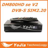 DM800se V2 DVB-S satellite Receiver DM800HD se V2 with SIM2.20 521MB/1GB Flash HbbTV/Web browser Free Shipping