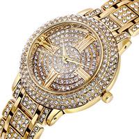 2014 quality female watches fashion czech rhinestones all match women luxury