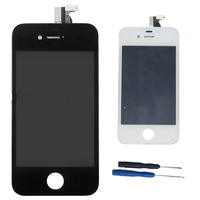 New LCD Display Touch Screen Digitizer Assembly with Bezel Frame For Apple Iphone 4S