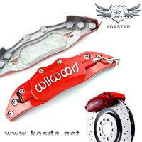 240mm Wilwood  Aluminum Brake Caliper Cover, Brake Cover, Caliper Cover Kit - Red