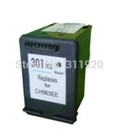 1pcs Ink Cartridge For HP 301 301XL CH563EE Black Ink Cartridges For HP Deskjet 1000 1050 2000 2050s 3050 2054A 3054A Printer