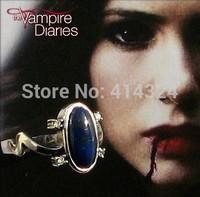 THE VAMPIRE DIARIES ELENA'S DAYLIGHT SUN PROTECTION RING REAL LAPIS LAZULI STONE