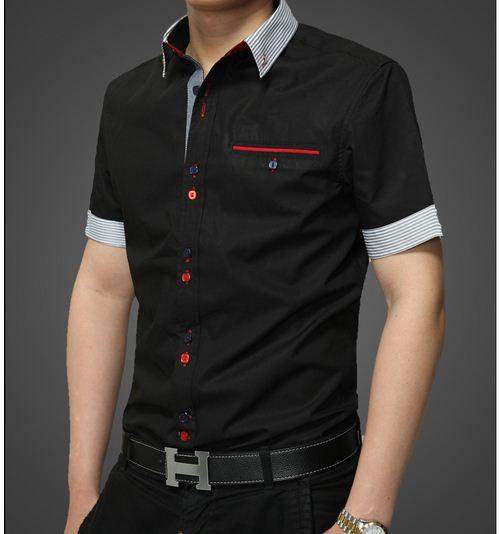 Italian Designer Men's Clothes Shirts Italian Style Men