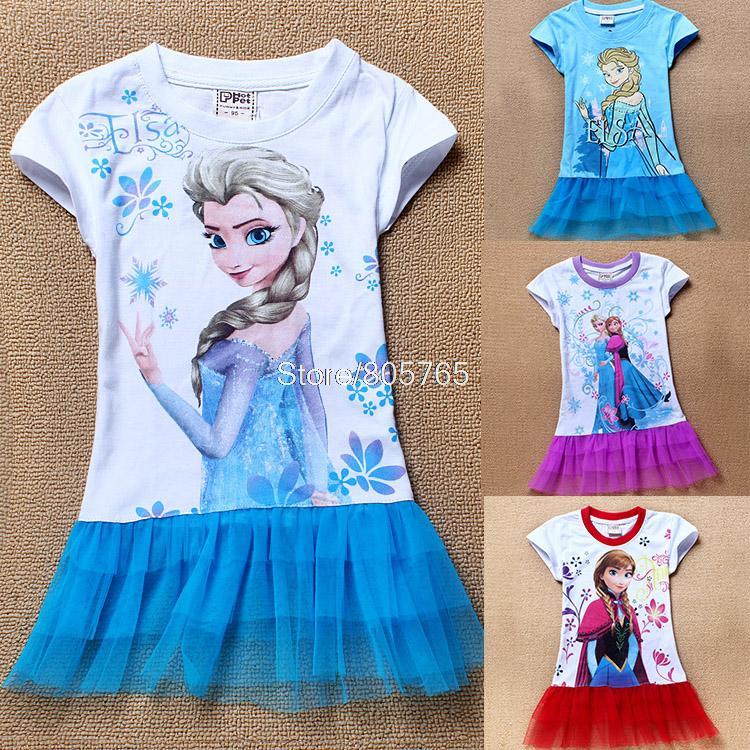 Frozen font b dress b font baby font b girls b font elsa ana jpg