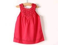 Free shipping 2014 new summer  lace dress girls dresses wholesale dress girls lot