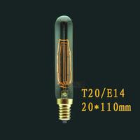 Fashion Incandescent Edison Bulb Fixture 220V E14 T20 Vintage Edison light Bulbs For Decor