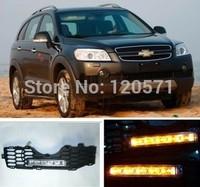 Best CAR-Specific Durable Germany OSRAM LED Chips 2008-2010 Chevrolet Captiva DRL LED Daytime Running Light fog lamp