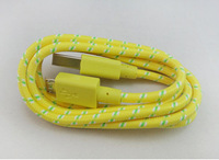 Free shipping 3M  Braided  Micro USB Data Sync  Cable For Samsung Galaxy S3 S4 HTC Sony LG Nokia Blackberry Charger Adapter