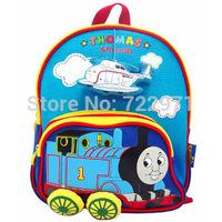 kids mini school bag Thomas train bags boys girls canvas Rucksack cartoon Children Backpacks kids gifts kindergarten school bag
