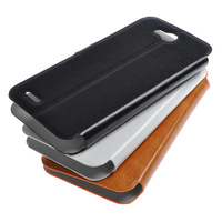 New Leather Case For Jiayu F1 F1W Flip Cover Portective Case For Jiayu F1 F1W Smart Phone Black/ White/ Orange In Stock