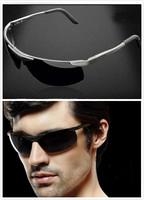 New Fashion Summer Sport Male sunglasses polarized sun glasses aluminum magnesium alloy Polaroid Sunglasses Drving Oculos Gafas