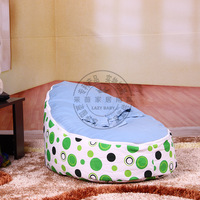 Free Shipping By EMS baby beanbag baby seat with filler bubbles baby bed newborn baby chair in stock
