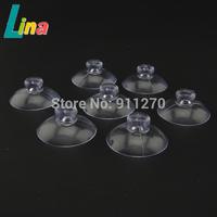 Wholesale 200pcs/lot PVC Transparent 2cm 2.5cm 3cm Strong Round Suction Cup Sucker For Car Glass Decoration