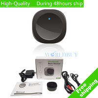 High Quality Wireless Bluetooth Audio Music Receiver Adapter Stereo For Phone Tablet PC Free Shipping UPS DHL EMS CPAM HKPAM