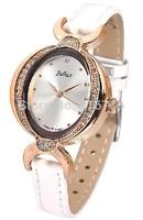 Hot Sale Woman Watches 2014 Korea Brand JULIUS Fashion Vintage Quartz Wristwatches,Luxury Elegant Leather Clock Women JA-652