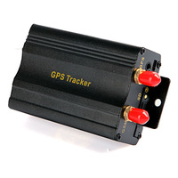 Vehicle Car GPS Tracker GT003 with GSM Alarm SD Card Slot Anti-theft Real-time tracking Free shipping Dropshipping Wholesale