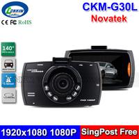 2014 New Novatek 96620 Dashboard Camera Video Recorder G30 Car DVR Black Box 2.7inch LCD + 170 Degree Wide Angle + G-sensor + IR