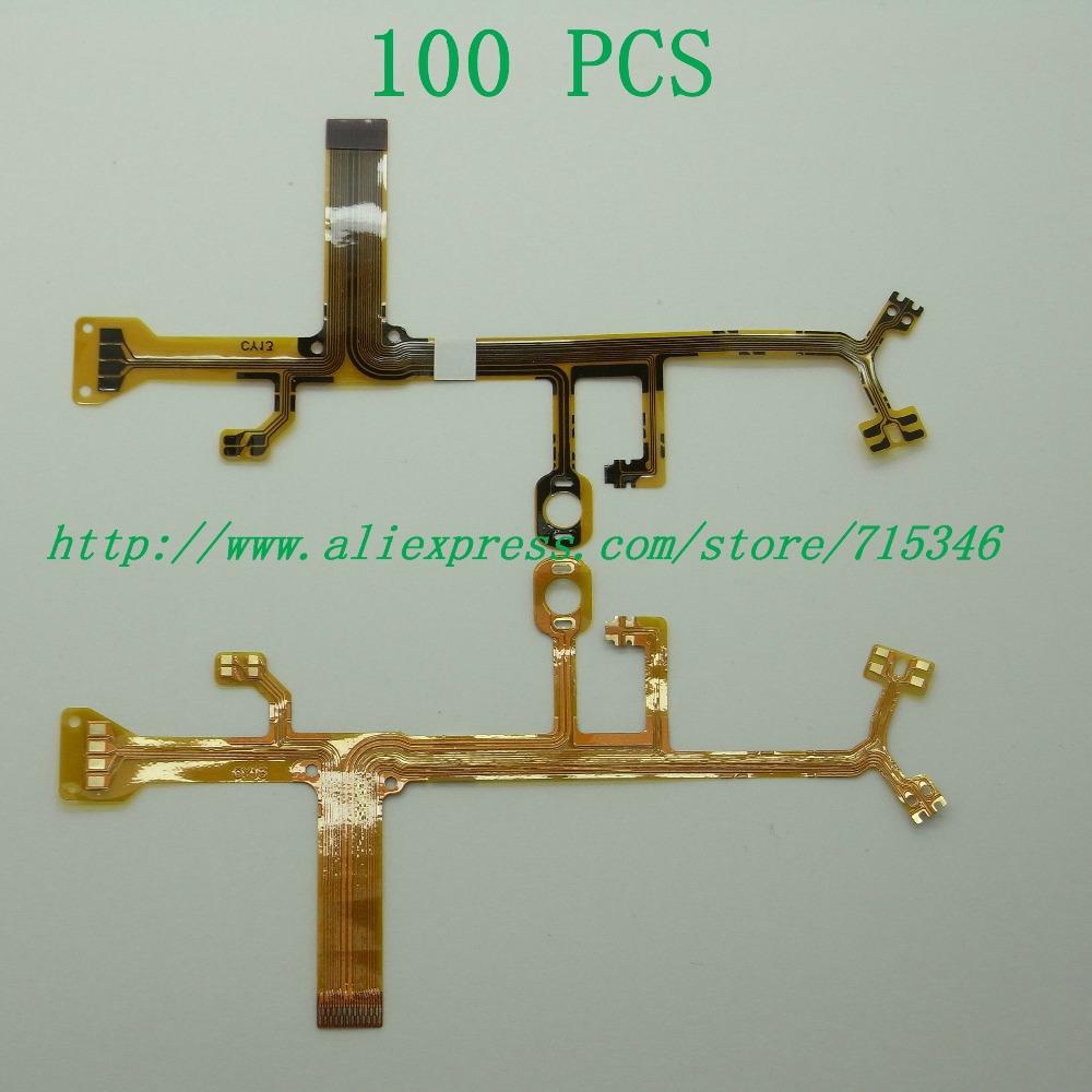 100PCS/ Lens Main Flex Cable For NIKON S200 S210 S220 S230 For OLYMPUS FE-170 FE-230 FE-280 FE-320 FE-210 FE-220 Digital Camera(China (Mainland))