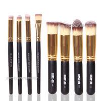 New Hot 8pcs Makeup Brushes Set Foundation Face Powder Brush Eyeshadow Nose Shader Tool