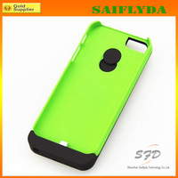 Free shipping 2200mah External Rechargeable Backup Battery Charger Charging Case Cover for iPhone 5 5s