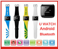 2014 Brand New Smart Phone Bluetooth Watch Phone Book Calling SMS Music and Gmail, Facebook. etc App  Functions Supported