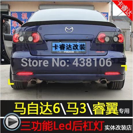Фонарь тормоза 2011/m6 Mazda 6 2 фонарь feron 6214 11077