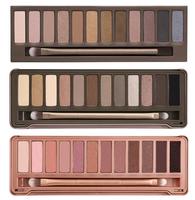 3pcs/lot Wholesale 2014 new NAKE Makeup set 12 Colors palette NK 1 2 3 eyeshadow palettes with brush, free Dropshipp