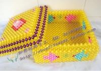 Diy handmade acrylic beaded crafts handmade finished beads watermelon container box