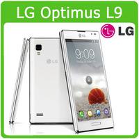 Original p760 Unlocked LG Optimus L9 P760 Cell phone 4.7'' touch Android RAM1GB ROM 4GB dual core Wifi GPS 3G 5MP Camera Phone